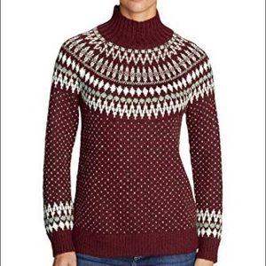 Eddie Bauer Arctic Fair Isle Sweater